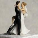 Tango Couple Wedding Cake Topper