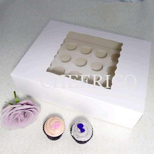 24 Window Medium Cupcake Box ($2.80/pc x 25 units)