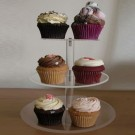 3 Tier Small  Round Maypole Cupcake Stand